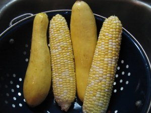 Corn and Yellow Squash better